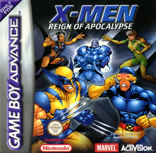 X-Men: Reign of Apocalypse Game Boy Advance Front Cover