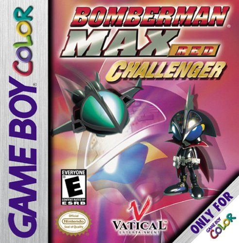 Bomberman Max: Red Challenger Game Boy Color Front Cover