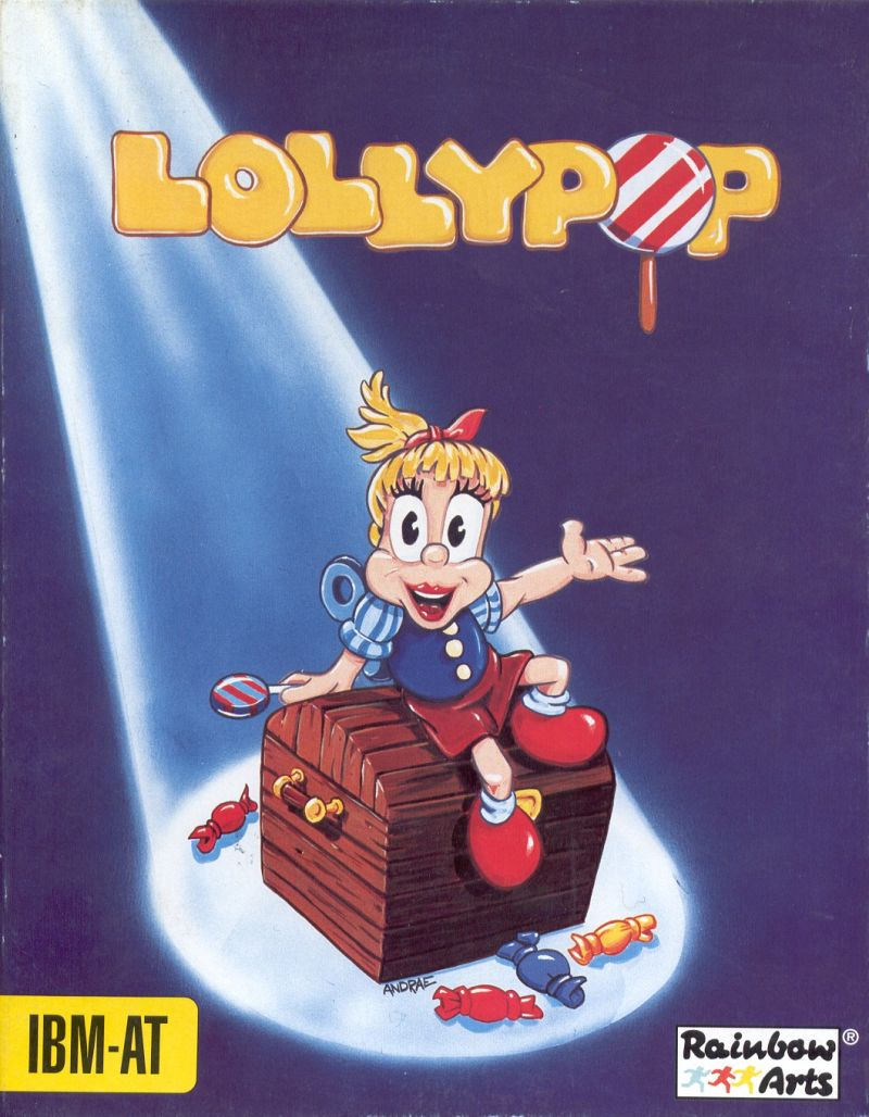 Lollypop DOS Front Cover