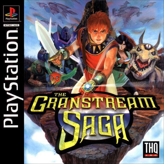 The Granstream Saga PlayStation Front Cover