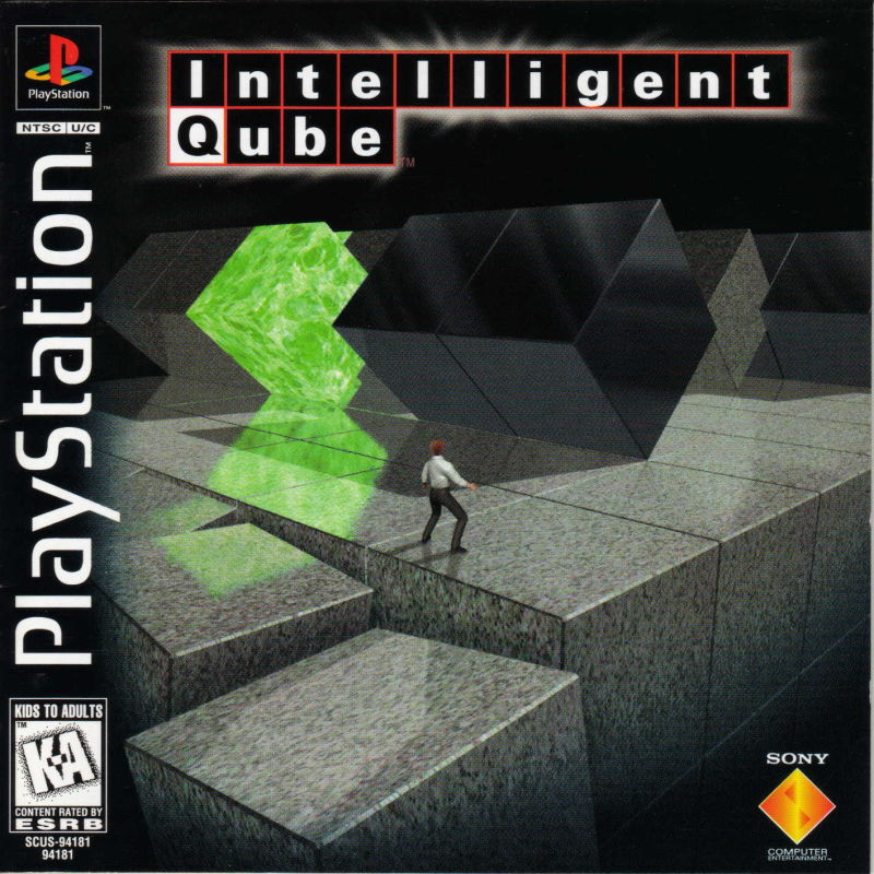 Intelligent Qube PlayStation Front Cover
