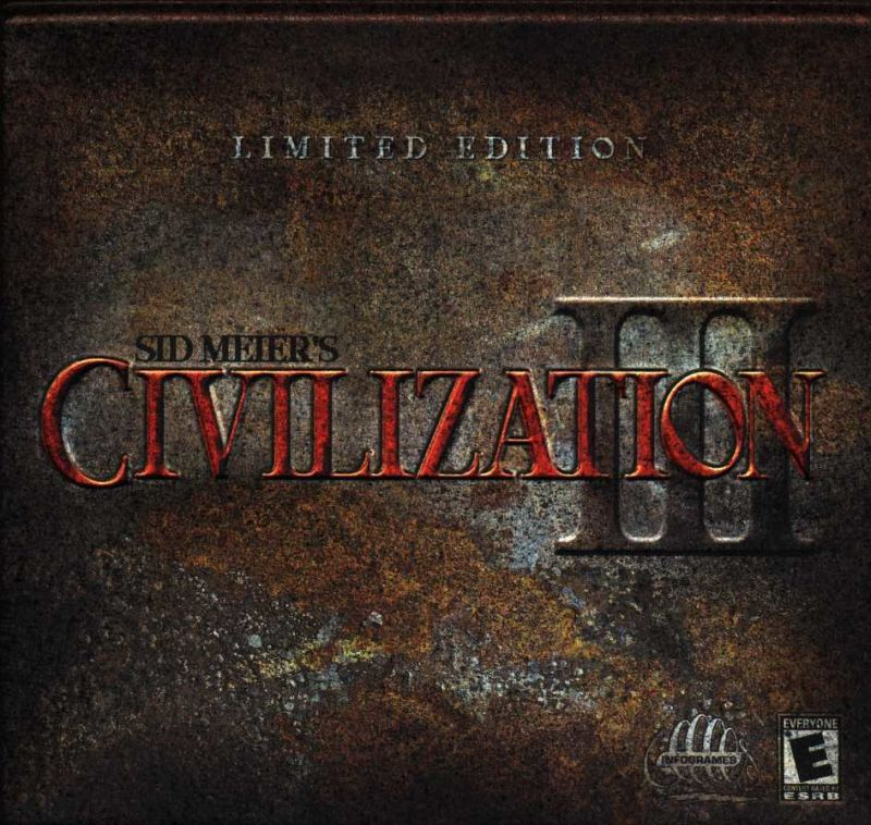 Sid Meier's Civilization III (Limited Edition) Windows Front Cover