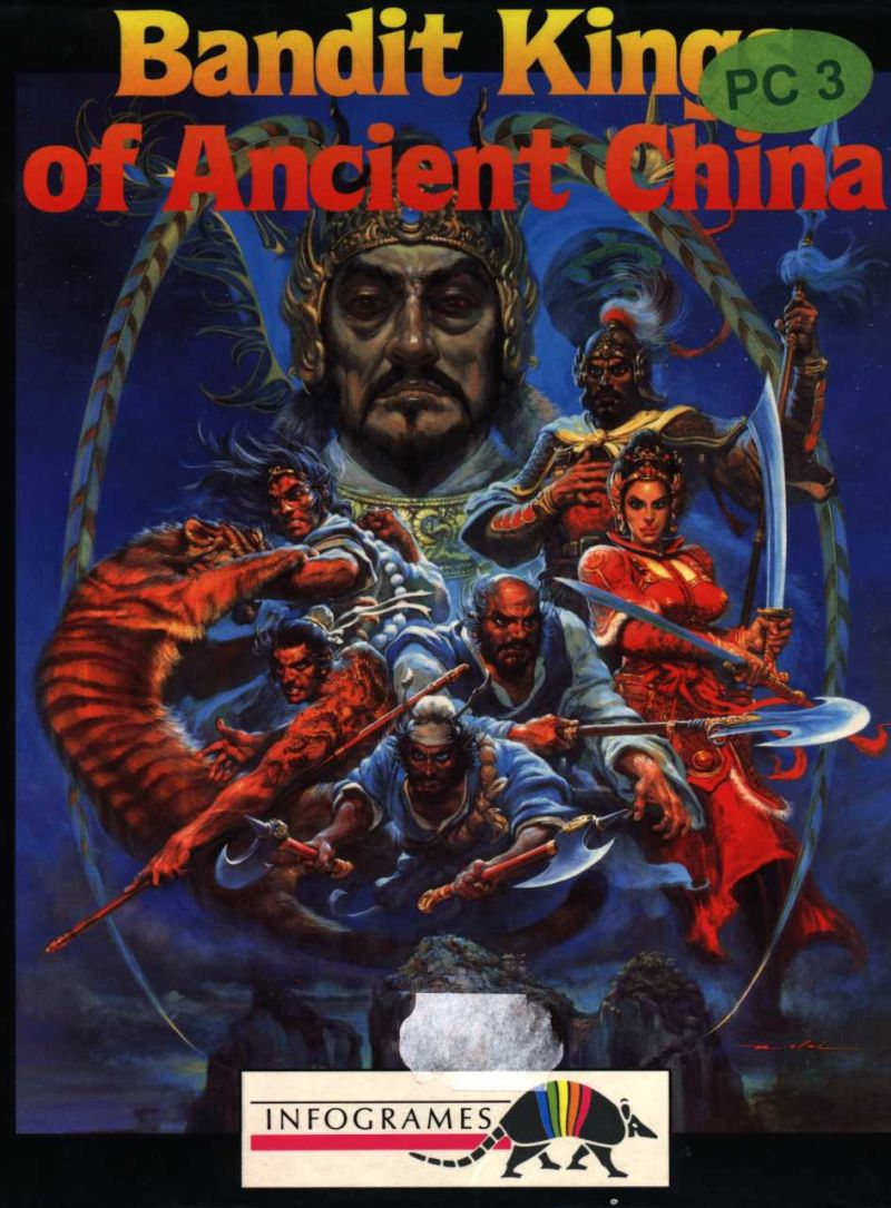 Bandit Kings of Ancient China DOS Front Cover