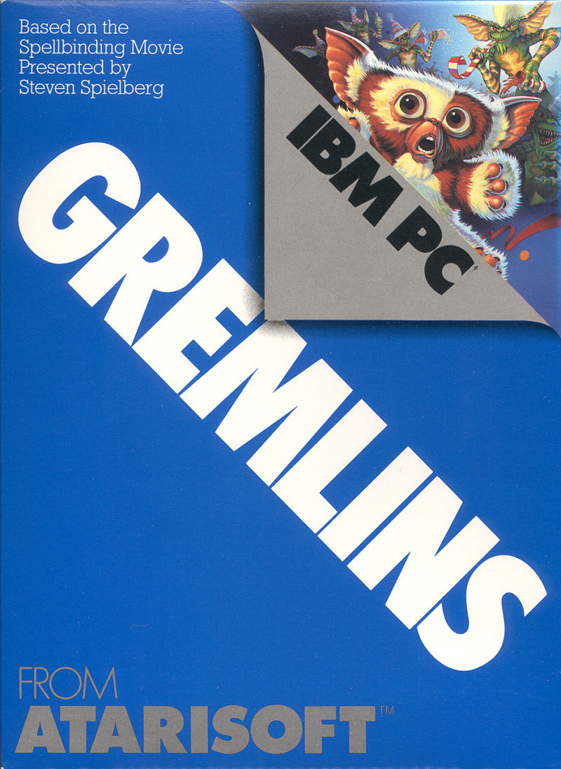 Gremlins PC Booter Front Cover