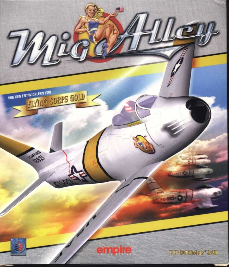 Mig Alley Windows Front Cover