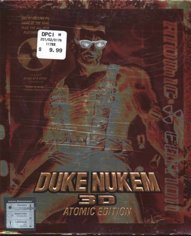 Duke Nukem 3D: Atomic Edition DOS Front Cover