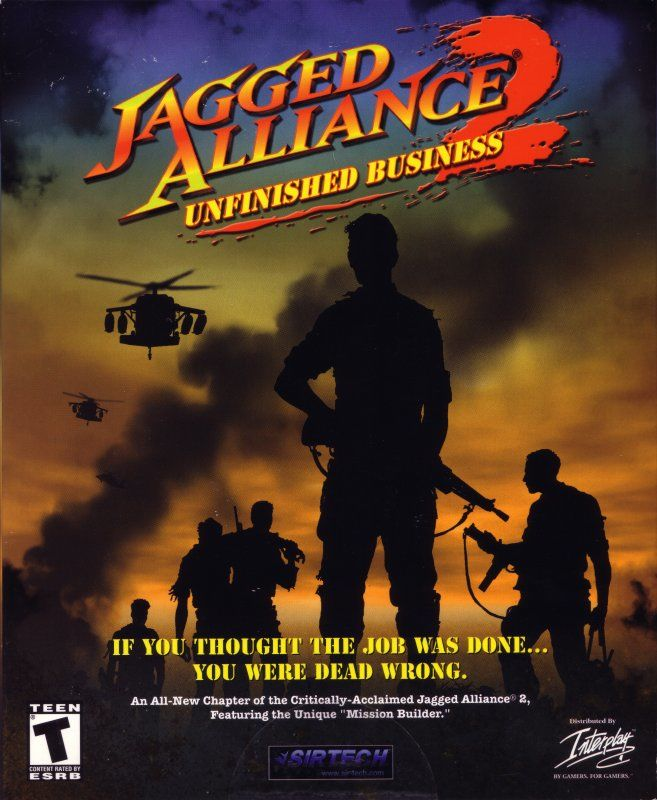 Jagged Alliance 2: Unfinished Business Windows Front Cover