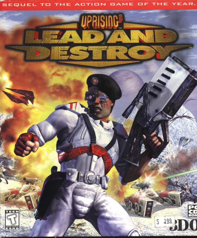 Uprising 2: Lead and Destroy Windows Front Cover