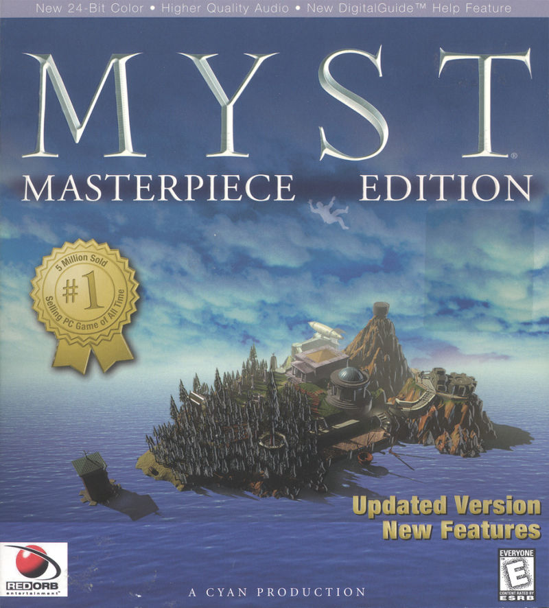 Myst: Masterpiece Edition Windows Front Cover