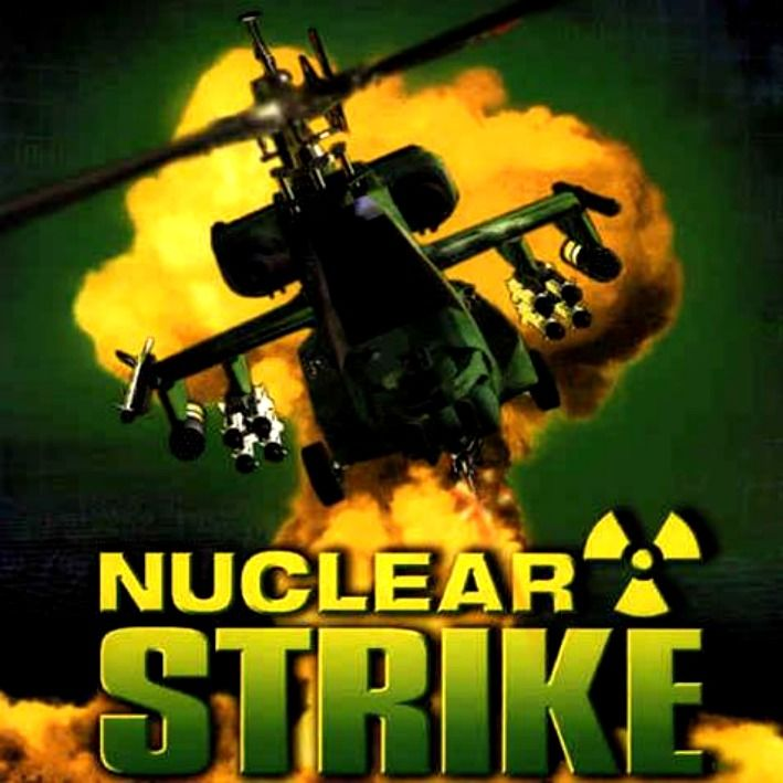 Nuclear Strike Windows Front Cover