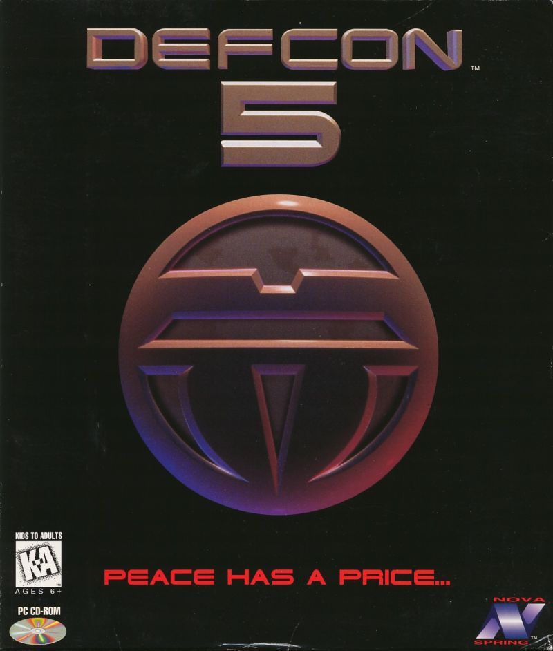 Defcon 5 DOS Front Cover
