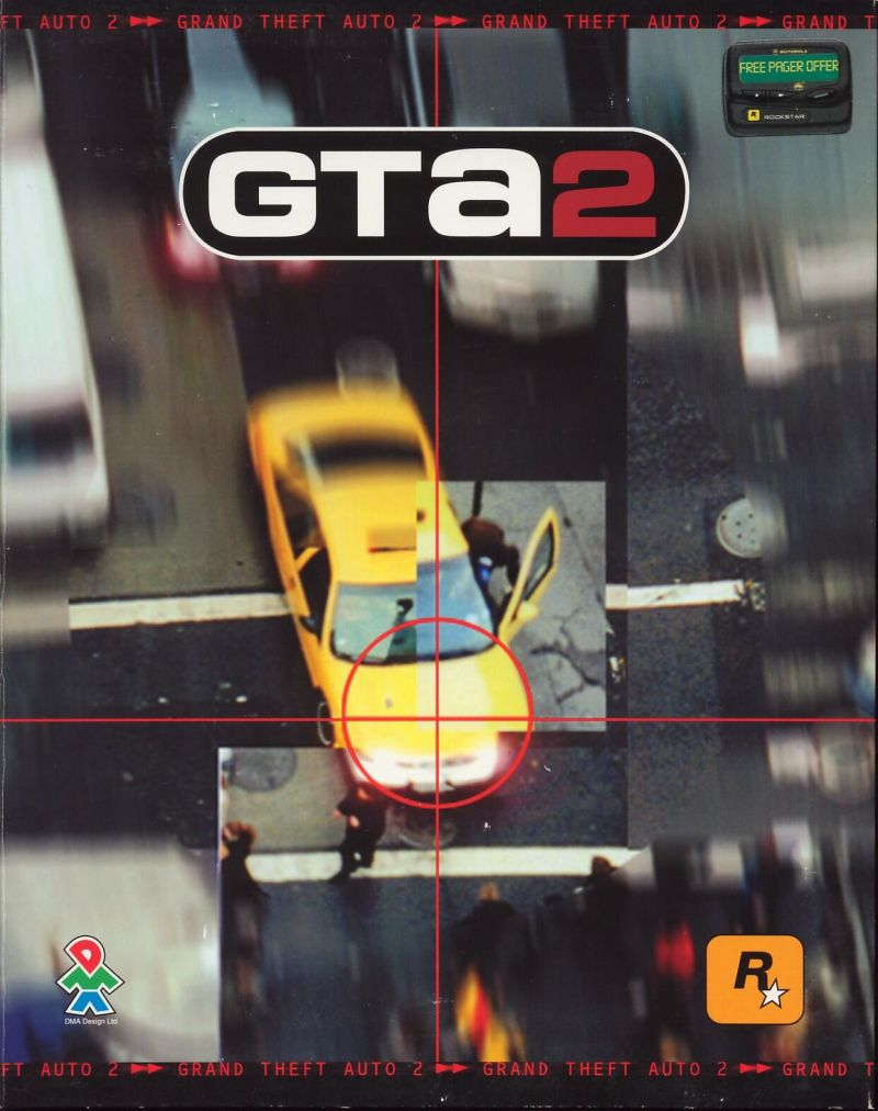 Grand Theft Auto 2 Windows Front Cover