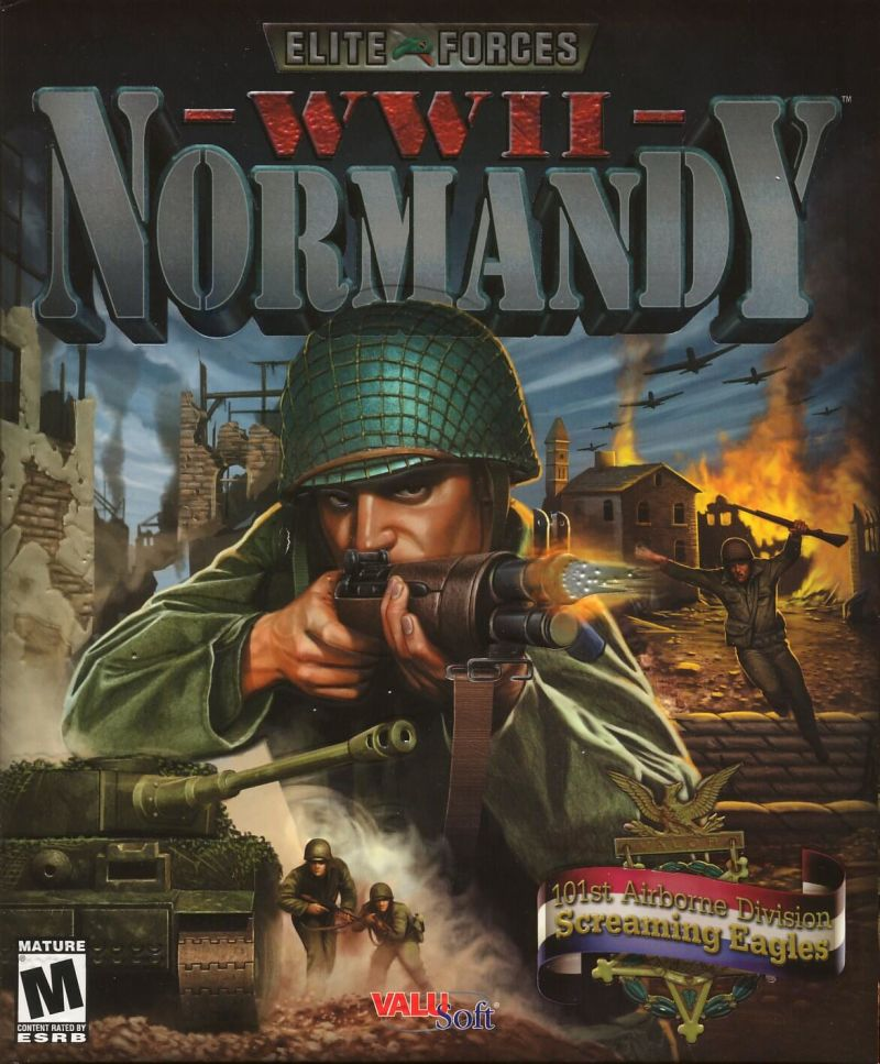 Elite Forces: WWII Normandy Windows Front Cover
