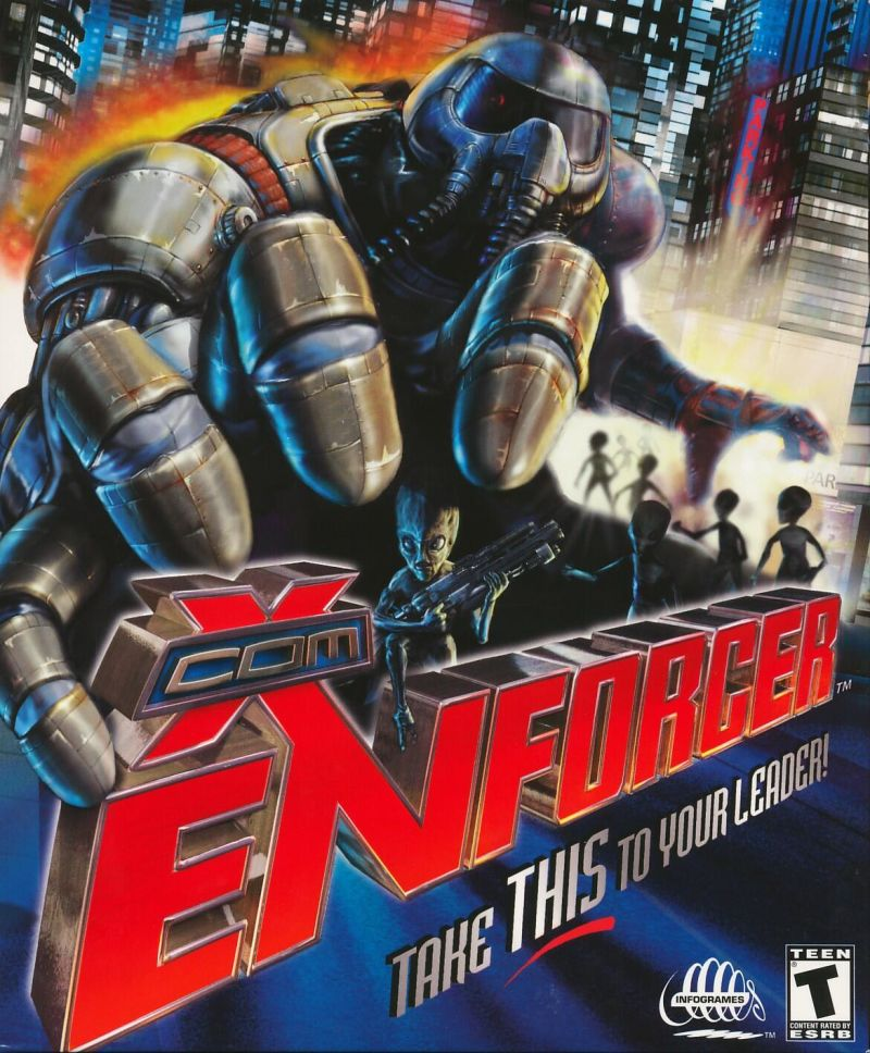 X-COM: Enforcer Windows Front Cover