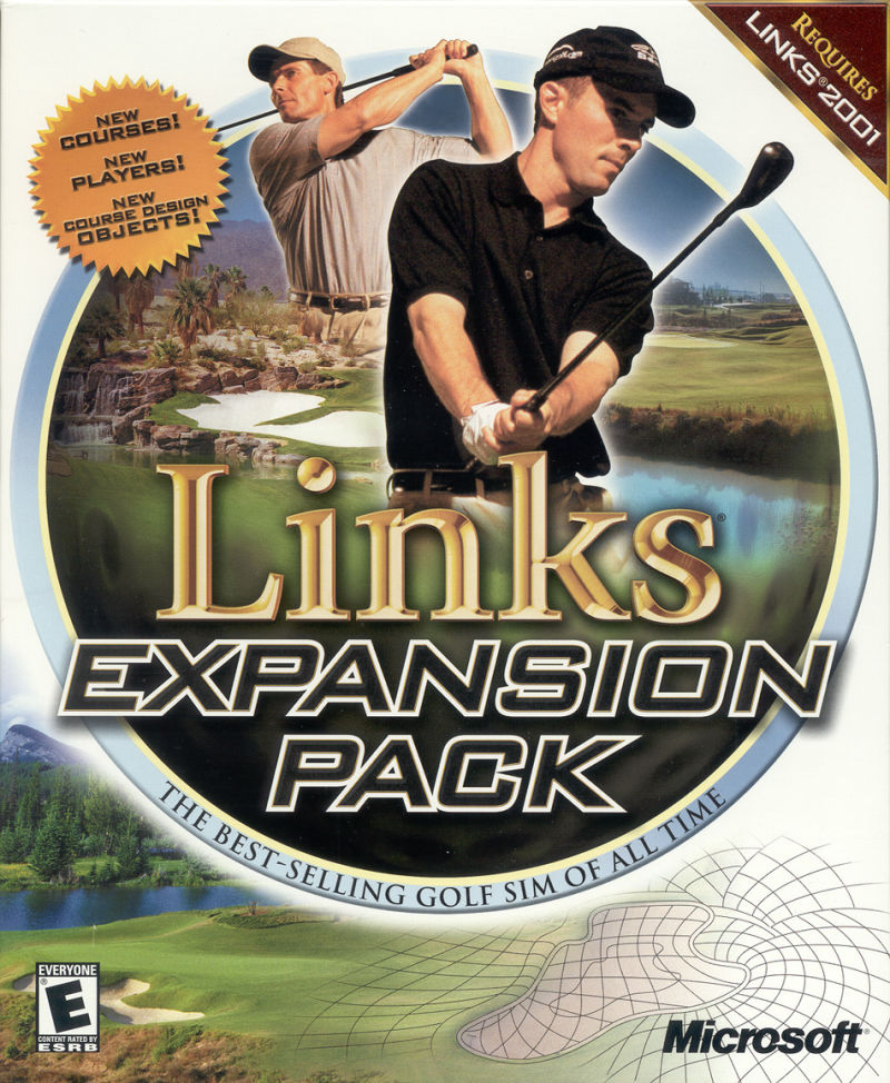 Links Expansion Pack Windows Front Cover