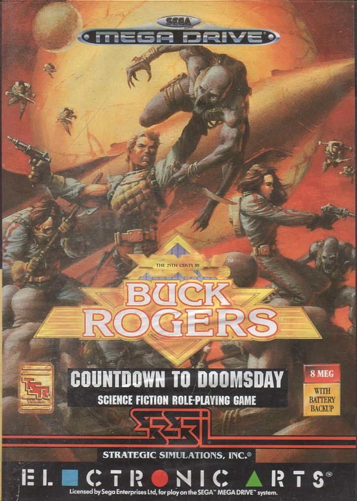 Buck Rogers: Countdown to Doomsday Genesis Front Cover
