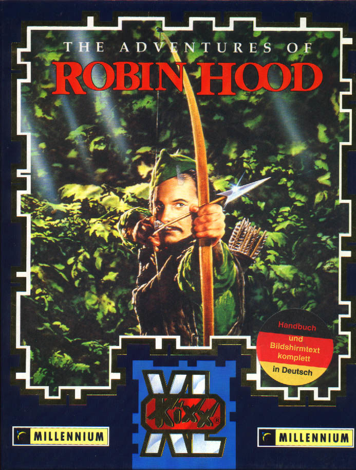 The Adventures of Robin Hood DOS Front Cover
