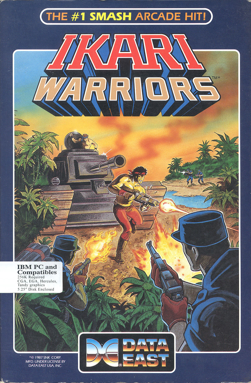 Ikari Warriors PC Booter Front Cover