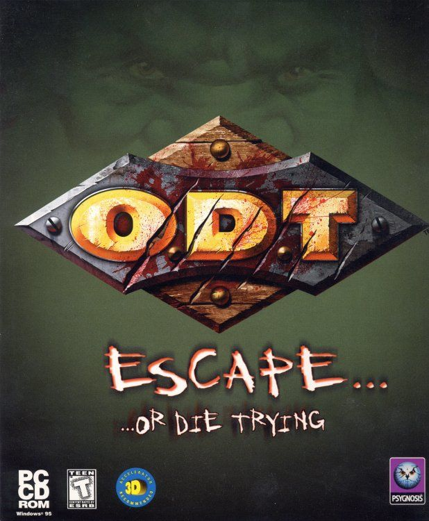 O.D.T. - Escape... Or Die Trying Windows Front Cover