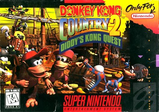 Donkey Kong Country. Donkey Kong Country 2: Diddy's