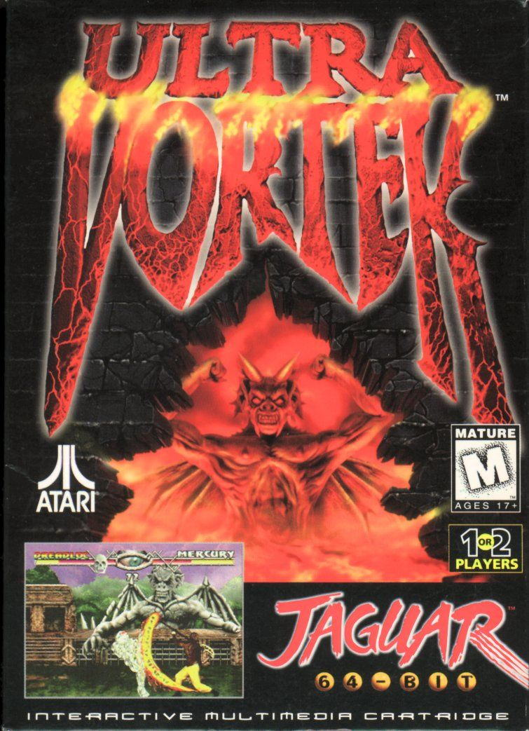 Ultra Vortek Jaguar Front Cover
