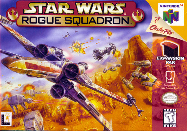 Star Wars: Rogue Squadron 3D Nintendo 64 Front Cover