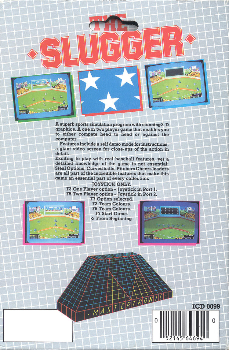 The Slugger PC Booter Back Cover
