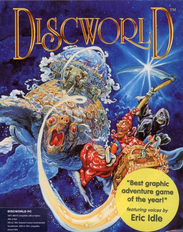 Discworld DOS Front Cover