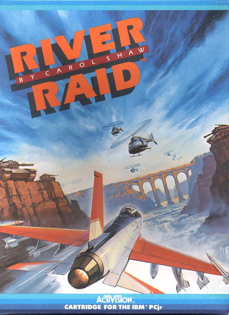 River Raid PC Booter Front Cover