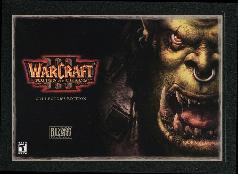 Warcraft III: Reign of Chaos (Collector's Edition) Macintosh Front Cover