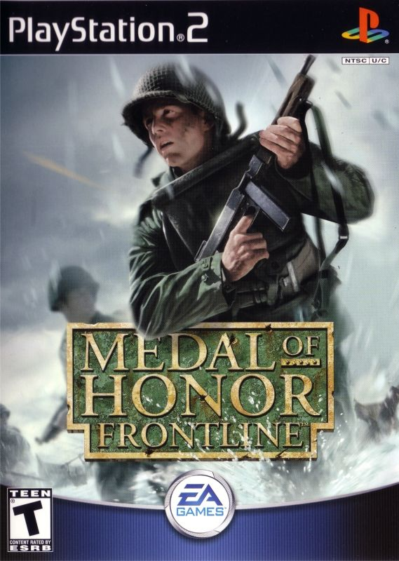 Medal of Honor: Frontline PlayStation 2 Front Cover