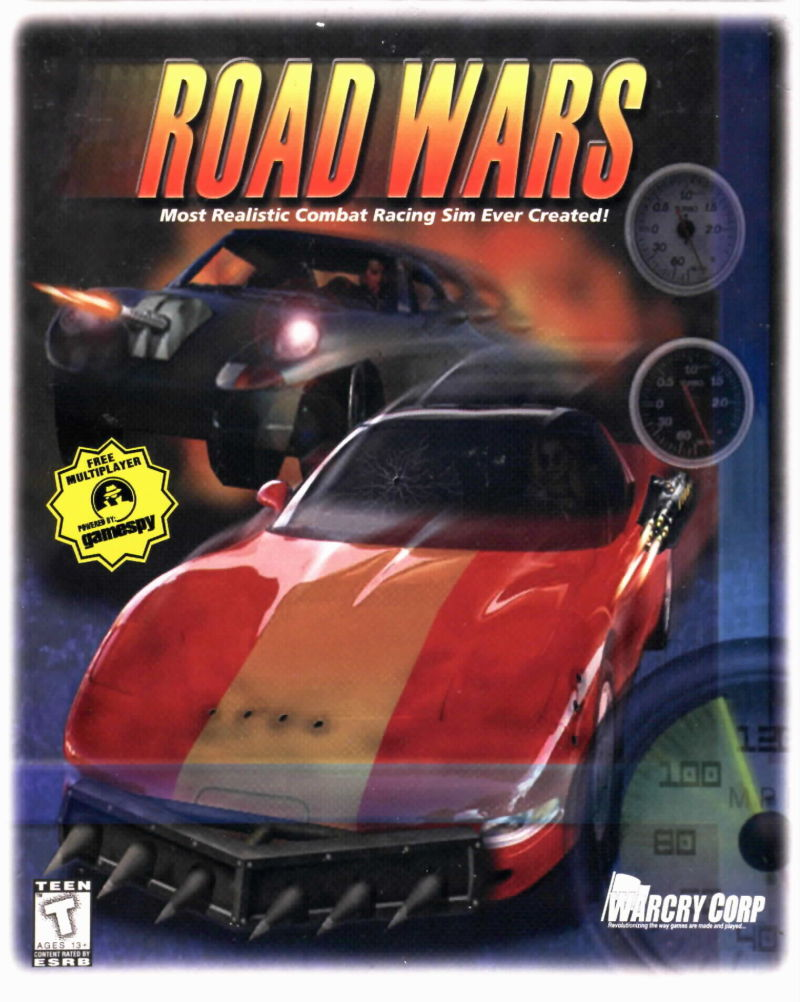 Road Wars Windows Front Cover