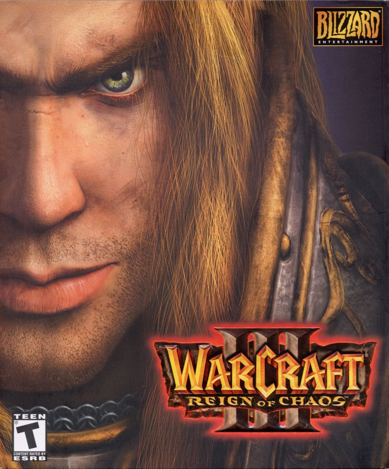 Warcraft III: Reign of Chaos Macintosh Front Cover