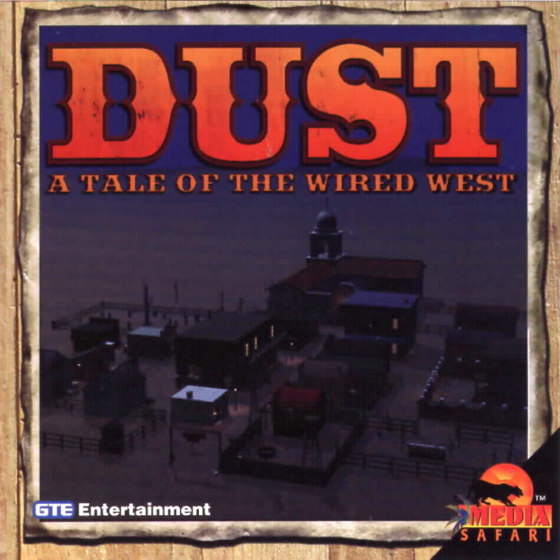 Dust: A Tale of the Wired West Windows 3.x Front Cover