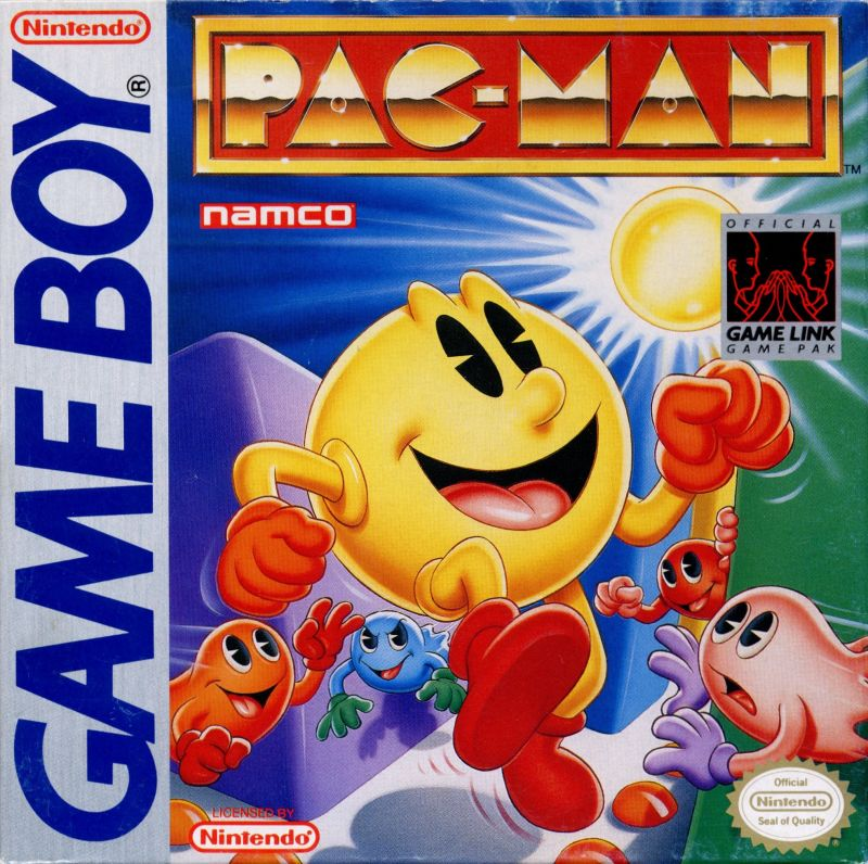 Pac-Man Game Boy Front Cover