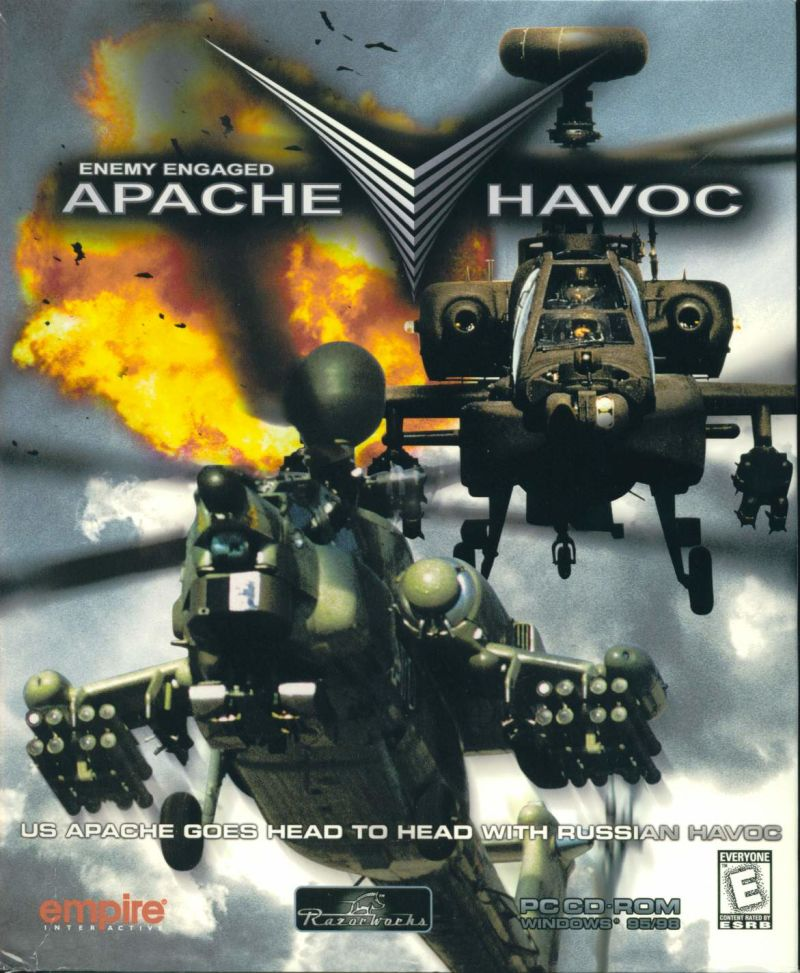 Enemy Engaged: Apache/Havoc Windows Front Cover