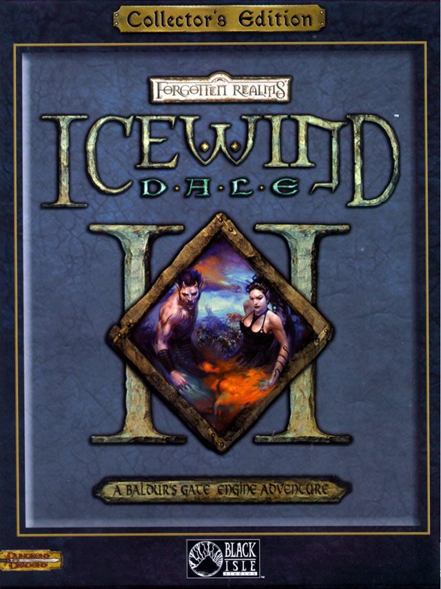 Icewind Dale II (Collector's Edition) Windows Front Cover