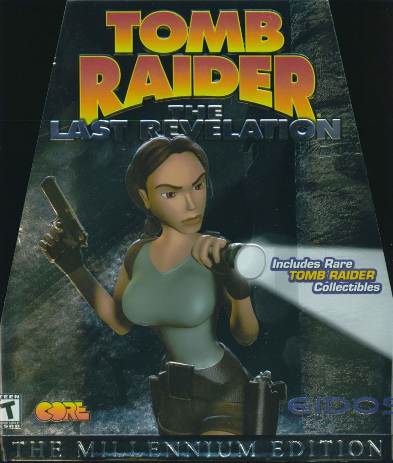 Tomb Raider: The Last Revelation Windows Front Cover