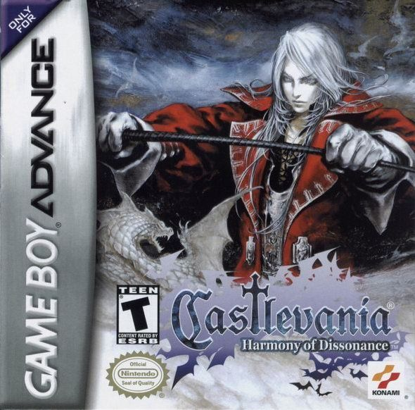 Castlevania: Harmony of Dissonance Game Boy Advance Front Cover