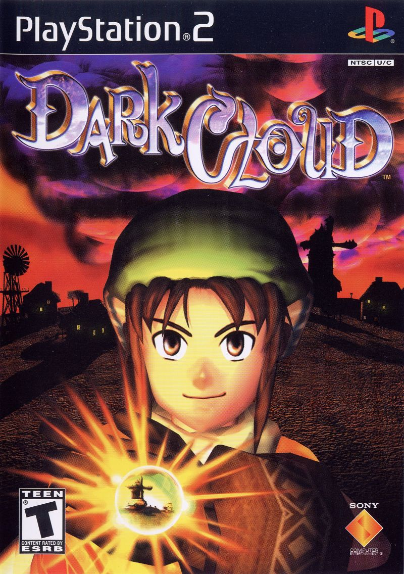 Dark Cloud PlayStation 2 Front Cover