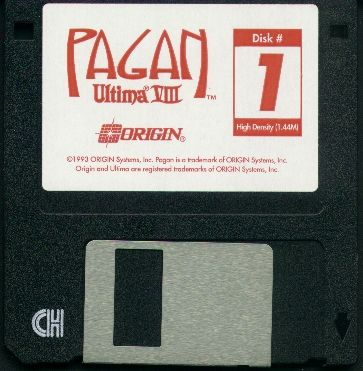 Pagan: Ultima VIII DOS Media Disk 1/8