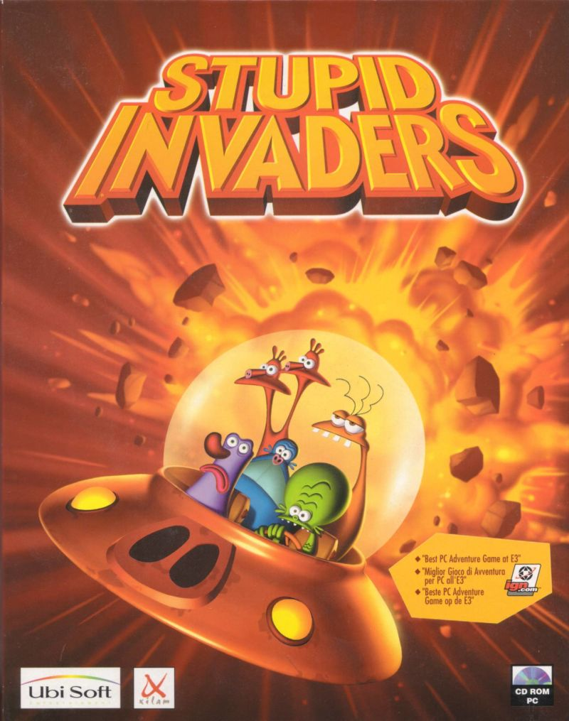Stupid Invaders Windows Front Cover