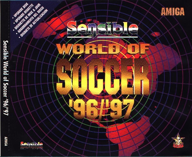 Sensible World of Soccer '96/'97 Amiga Front Cover