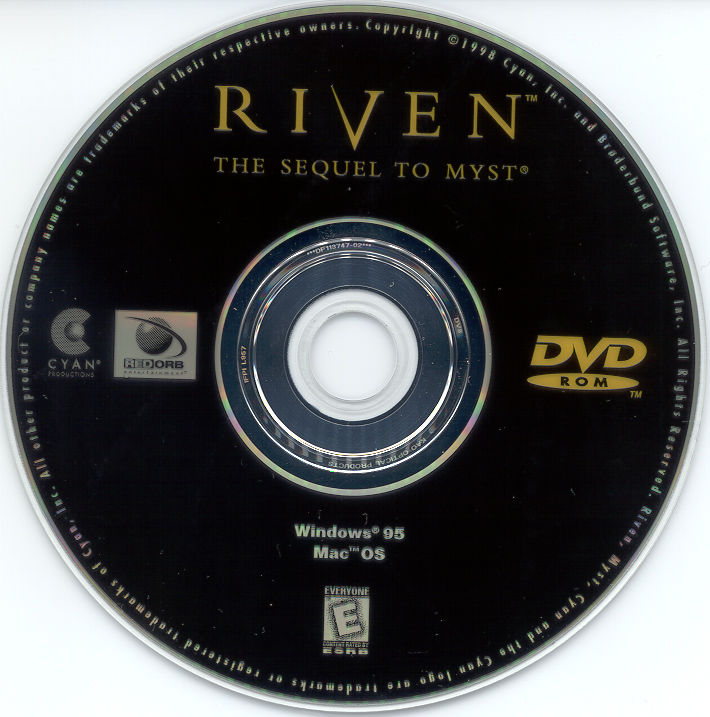 Riven: The Sequel to Myst Macintosh Media