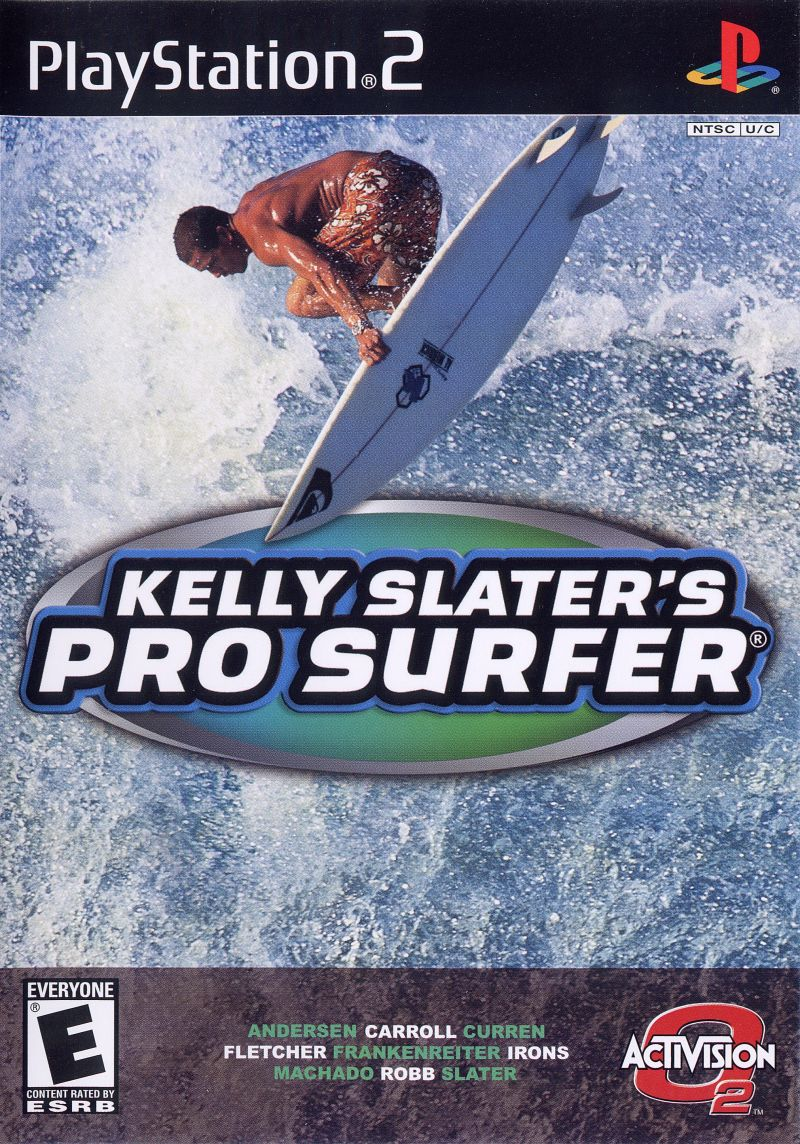Kelly Slater's Pro Surfer PlayStation 2 Front Cover