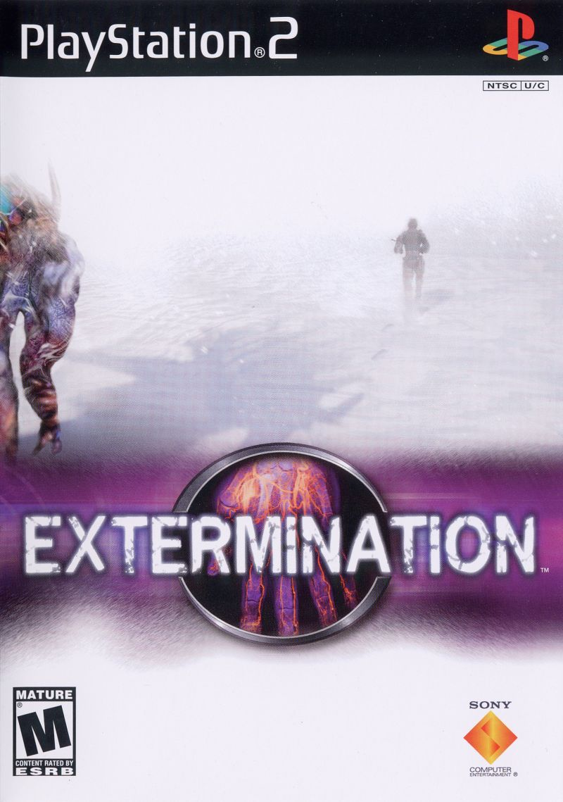Extermination PlayStation 2 Front Cover