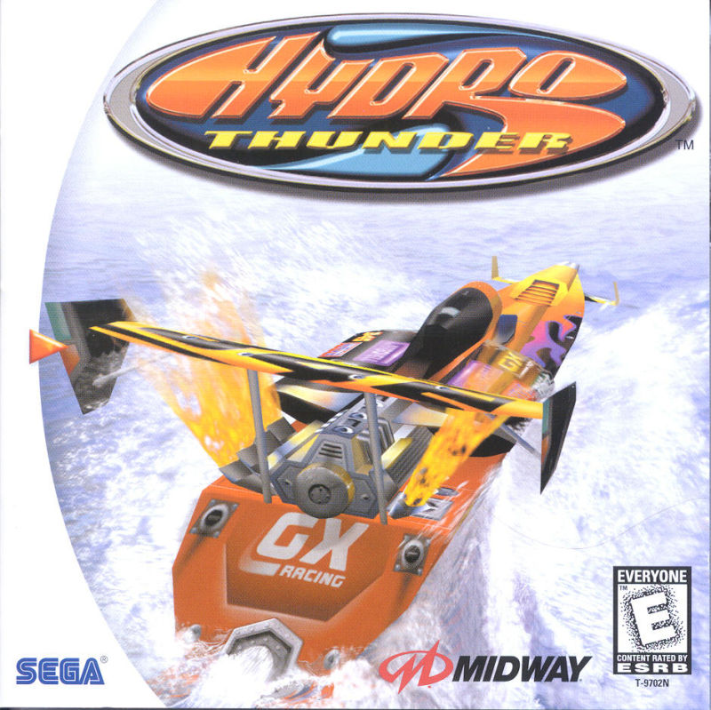 Hydro Thunder Dreamcast Front Cover
