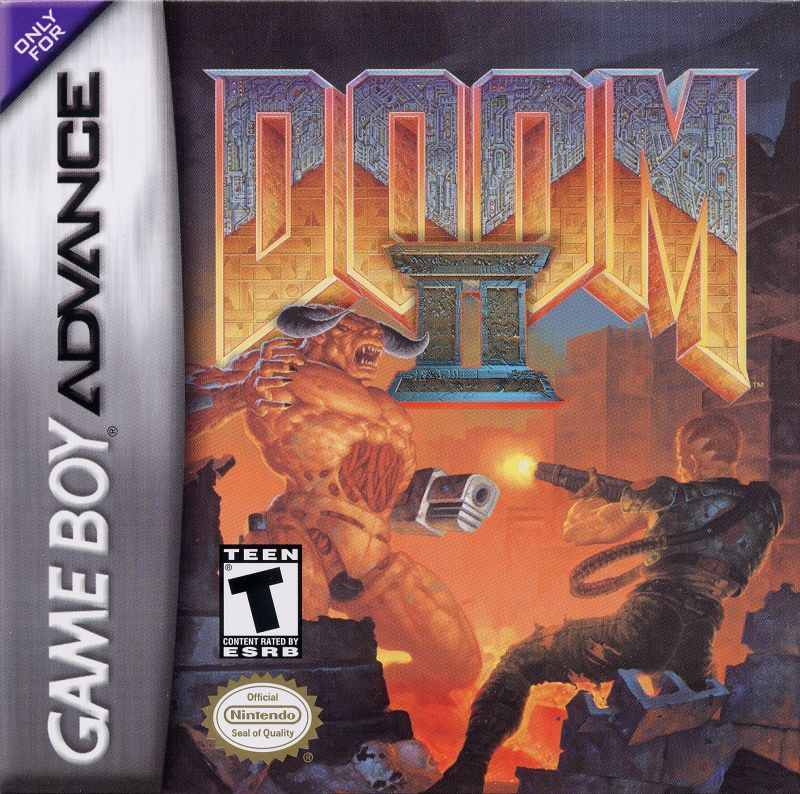 DOOM II Game Boy Advance Front Cover