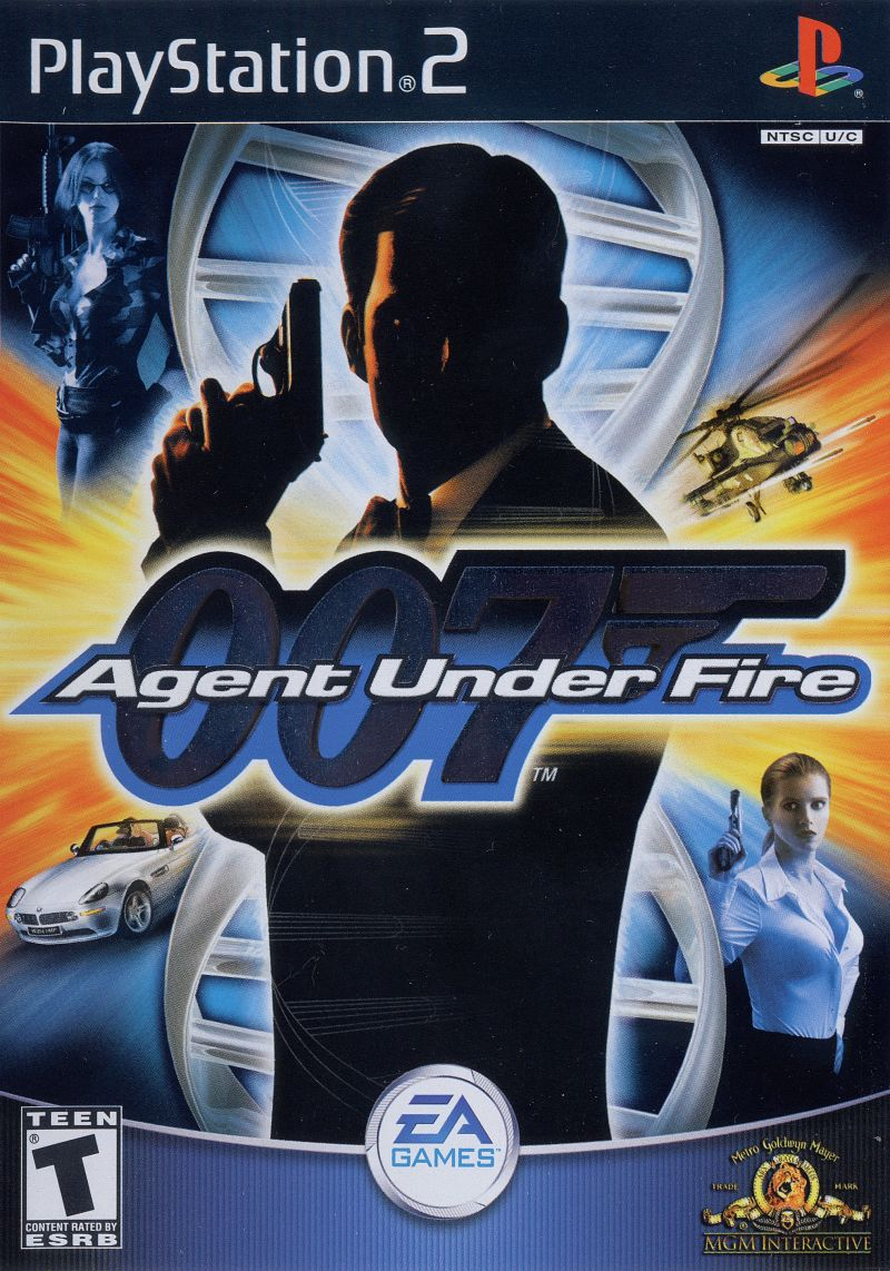 007: Agent Under Fire PlayStation 2 Front Cover