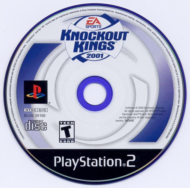Knockout Kings 2001 PlayStation 2 Media